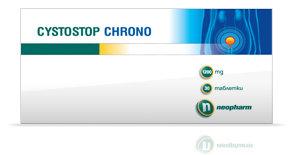 Цистостоп (Cystostop) Хроно таблетки 1200мг x30